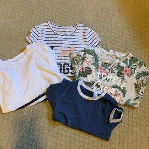 Large lot of girl graphic tees